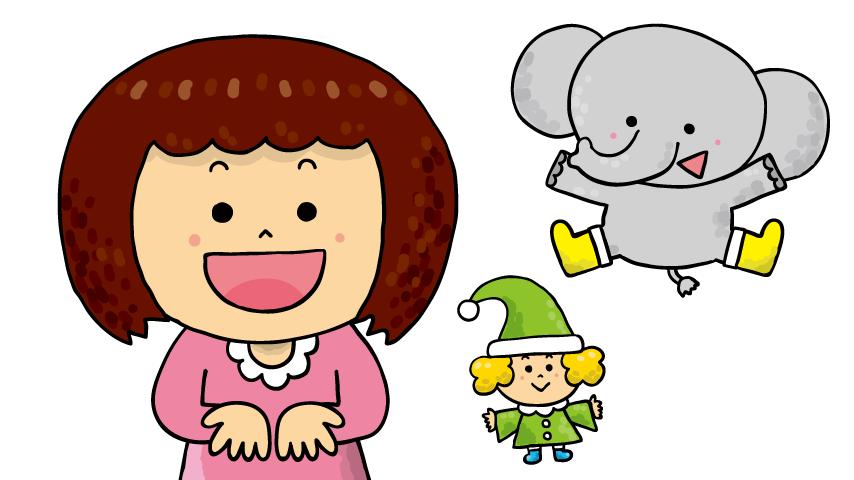 【手遊びアニメーションイラスト】<br /> ゆめある『てあそび:いとまき2015ver』