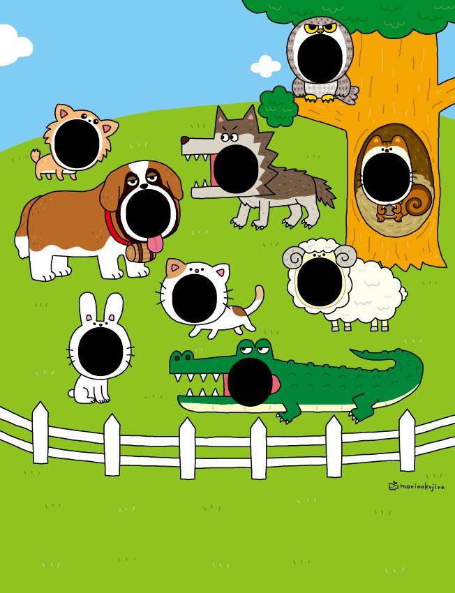 【動物イラスト】集英社『Myojo明星6月号 Hey!Say!JUMP 動物キャラで分析!9匹の妄想彼氏たち』